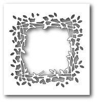 Memory Box: Poppystamps Craft Dies - Leaf Window