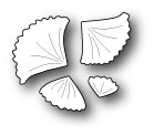 Memory Box: Poppystamps Craft Dies - Little Gingko Leaves