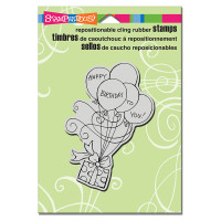 Stampendous Cling Rubber  Stamps - Gift Drift
