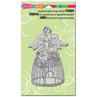 Stampendous Cling Rubber  Stamps - Angel Aviary