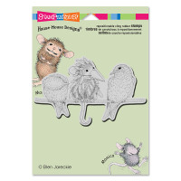 Stampendous Cling Rubber  Stamps - Tweet Disguise