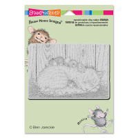 Stampendous Cling Rubber  Stamps - Cat Nap