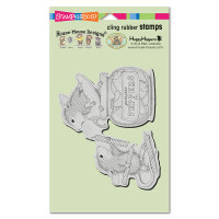 Stampendous Cling Rubber  Stamps - Pepper Power