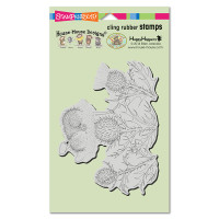 Stampendous Cling Rubber  Stamps - Lily Pad Life