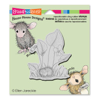 Stampendous Cling Rubber  Stamps - Violet Nap