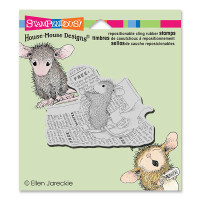 Stampendous Cling Rubber  Stamps - Classified Ad