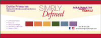 Simply Defined Dottie - Primaries 18pk
