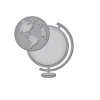 Spellbinders D-Lites Die  - World View
