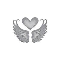 Spellbinders D-Lites Die  - Love in Flight