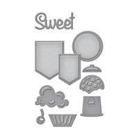 Spellbinders D-Lites Die  - Sweet Set
