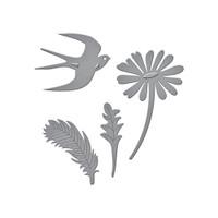 Spellbinders D-Lites Die  - Signs of Spring 1