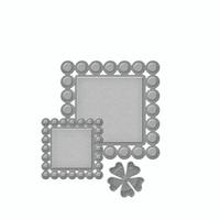 Spellbinders D-Lites  -  Beaded Squares