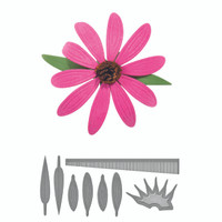 Spellbinders D-Lites Create a Flower -  Echinacea