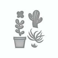 Spellbinders D-Lites  -  Succulent Garden
