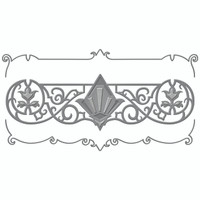 Spellbinders Shapeabilities Art Deco Collection Dies -  Deco Duality