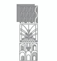 Spellbinders Shapeabilities Art Deco Collection Dies -  Divine Deco
