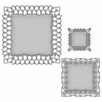 Spellbinders Nestabilities Art Deco Collection Dies -  Fairmont Decorative Element