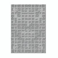 Spellbinders Embossing Folders by Seth Apter -  Gridiron
