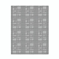 Spellbinders Embossing Folders  -  Gridiron