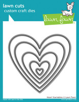 Lawn Fawn Dies - Heart Stackables
