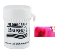 Brusho Crystal Colour - Crimson