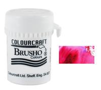 Brusho Crystal Colour - Crimson