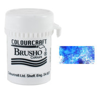 Brusho Crystal Colour - Cobalt Blue