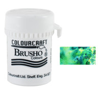 Brusho Crystal Colour - Leaf Green