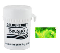 Brusho Crystal Colour - Lime Green