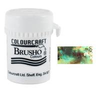 Brusho Crystal Colour - Olive Green