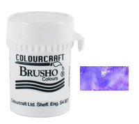 Brusho Crystal Colour - Purple