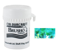 Brusho Crystal Colour - Sea Green