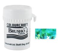 Brusho Crystal Colour - Sea Green