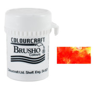 Brusho Crystal Colour - Vermilion