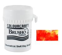 Brusho Crystal Colour - Vermilion