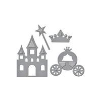 Spellbinders Die D-Lites Collection - Pretty Princess