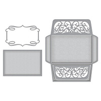Spellbinders Wedding Collection by Becca Feeken - Card, Envelope and Liner Set
