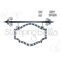 Stamping Bella - Sign Base For Edna Blows A Kiss