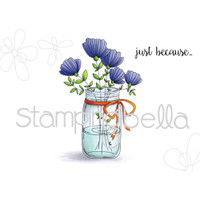 Stamping Bella - Mason Jar Of Flowers