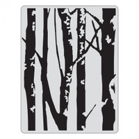 Sizzix Textured Impressions Embossing Folder by Tim Holtz - Birch Trees
