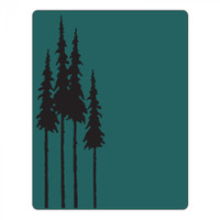 Sizzix Textured Impressions Embossing Folder by Tim Holtz - Tall Pines