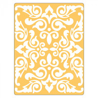 Sizzix Textured Impressions Embossing Folder by Rachael Bright - Damask