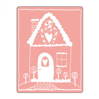 Sizzix Textured Impressions Embossing Folder by Stephanie Ackerman - Gingerbread House