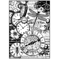 Stamperia Rice Paper Decoupage - Vintage Clocks