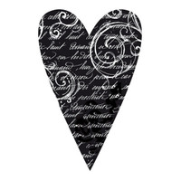 Stamperia High Definition Rubber Stamp - Heart