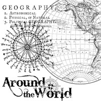 Stamperia High Definition Rubber Stamp - Geography