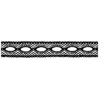 Stamperia High Definition Rubber Stamp - Lace with Hole