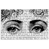 Stamperia High Definition Rubber Stamp - Face
