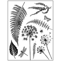 Stamperia High Definition Rubber Stamp - Leaves