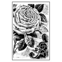 Stamperia High Definition Rubber Stamp - Peonies